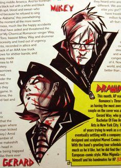 Gerard Way's Art Appreciation Blog, magnetsandthesun: Gerard Way art spam - AP...
