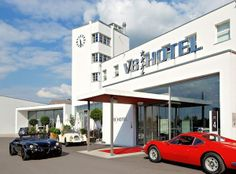 This Car-Themed Hotel In Germany Is The Pitstop Of A True Champion (Photos)