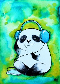 Panda - Tap to find the products you love with the best unique designs. Panda Love, Red Panda, Cute Panda, Panda Bear, Panda Nursery, Cartoon Panda, Bear Pictures, Illustrations, Pretty Wallpapers