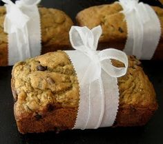 The Other Side of Fifty: Mini Zucchini Banana Bread Loaves Mini Banana Muffins, Zucchini Banana Bread, Christmas Food Gifts, Loaf Pan, Sweet Bread, Food Tips, Doughnuts, Bread Baking, Fun Desserts