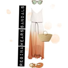 Designer Clothes, Shoes & Bags for Women Ootd, Sandals, Casual, Polyvore, How To Wear, Stuff To Buy, Outfits, Shopping, Collection