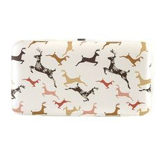 Frolicking Fields of Deer Hardcase Wallet