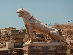 Terrasse des Lions, Délos