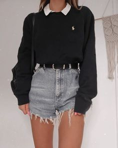 Adrette Outfits, Indie Outfits, Teen Fashion Outfits, Retro Outfits, Cute Casual Outfits, Look Fashion, Stylish Outfits, Vintage Outfits, Spring Outfits