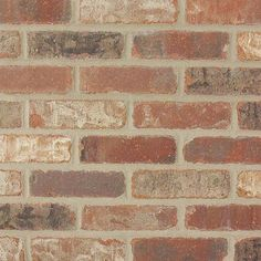 Old Mill Brick Colonial Collection Castle Gate in. Clay Thin Brick Corner (Case of - The Home Depot - kitchen backsplash starter home Brick Paneling, Brick Tiles, Brick Flooring, Faux Brick Wall Panels, Floors, Faux Brick Backsplash, Brick Archway, Future House, Shabby Chic Romantique