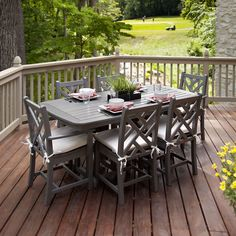 20+ 6 Chair Patio Dining Set - Modern Furniture Cheap Check more at http://www.ezeebreathe.com/6-chair-patio-dining-set/