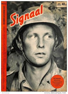 D969 -No. H 23/24-1942 SIGNAAL / SIGNAL Holland Dutch - Illustrated German Magazine Russia, Soldiers, Wehrmacht, Staling - Revues & Journaux