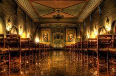 Inner Sanctuary of the Mission Santa Clara