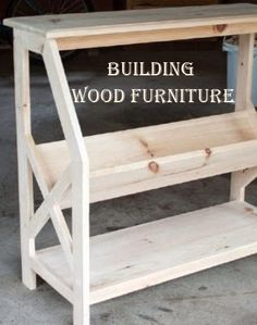 How to Start Building Wood Furniture