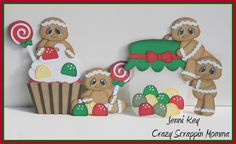 Gumdrops & Lollipops Gingers File from Cuddly Cute Designs DT~Jenni