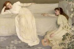 Symphony in White, No. III, by James Abbott McNeill Whistler
