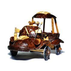 Caminhão de casca de coco - Happy Market Desktop Storage, Super Glue, Coconut Shell, Decorative Storage, Lorem Ipsum, Shells, Trucks, Pure Products, Craft