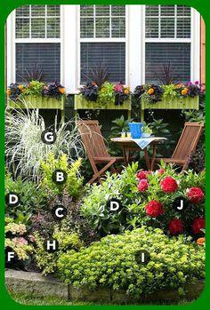 Flower Bed Around Tree Ideas