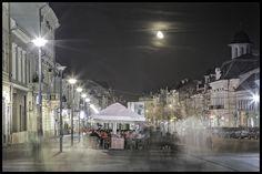 street at night by Cosmin Ignat on 500px