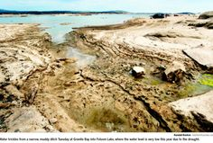 Folsom Lake-Drought 2014
