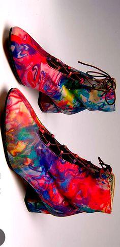Vintage shoes - David Evins - U.S.A. - 1970