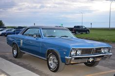 '67 Pontiac Beaumont from Canada.