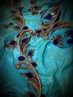 Details... #details #textile #beading #color