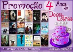 Saleta de Leitura: RESULTADO PROMOÇÃO 4 ANOS DE DOCES LETRAS