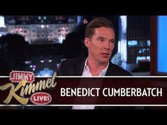 Benedict Cumberbatch on Jimmy Kimmel Live PART 1 - YouTube