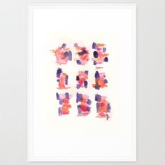 Watercolour Art Print Summer Series   https://society6.com/product/160122-summer-sydney-2015-16-watercolor-20_framed-print#12=53&13=59