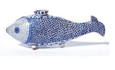 Boujoir?? en forme de poisson  Musée Bénaki