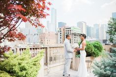 A Rooftop Elopement in Chicago | Ashleigh+Charles | Alora Rachelle Photography