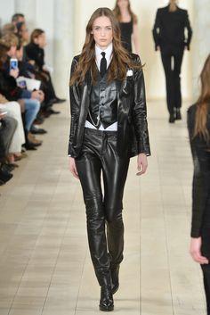 Ralph Lauren Fall 2015 Ready-to-Wear Fashion Show - Sanne Vloet