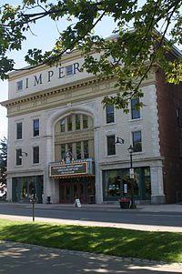 The Imperial Theatre, a National Historic Site still hosting live performances. Saint John, New Brunswick