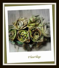 Déco de table : Ma table automnale   bouquet de feuilles - bunch of leaves