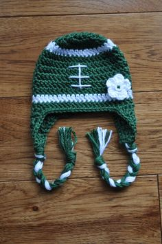 Infant Girls Michigan State Inspired Crochet by knotgranny on Etsy, $14.00