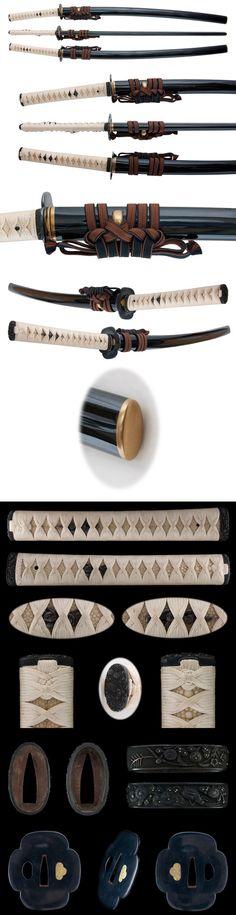 The Japanese sword.