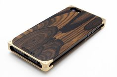EXO16 Solid Brass & Zircote Composite for iPhone 5