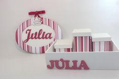 Kit Júlia com tecido enviado pela cliente. http://ciadasartes.divitae.com.br/produto-84788-kit-bandeja-e-quadro-oval-p http://www.elo7.com.br/kit-bandeja-e-quadro-oval-p/dp/41EF80