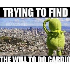 Kermit the Frog memes - gym humor Humour Fitness, Gym Humour, Fitness Motivation, Workout Humor, Fitness Quotes, Funny Workout Memes, Fitness Gear, Exercise Meme, Funny Gym Motivation