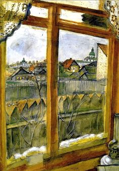 Marc Chagall(Марк Шагал),un pictor modern Marc Chagall, Window Art, Window View, Pablo Picasso, French Artists, Anime Comics, Famous Artists, Love Art, Les Oeuvres