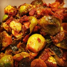 Instant Pot Bangin' Brussels Sprouts | Pressure Luck Cooking