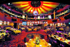 ncl_Epic_Rstrt_Spiegel_Tent.psd Dinner Theater with Cirque Du Soleil show