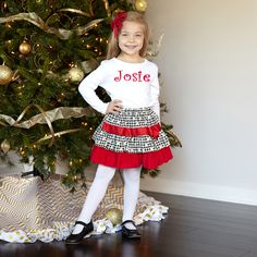 Introducing Lolly Wolly Doodle's newest line of classic holiday outfits for your kids this Christmas!