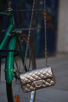 chanel and bikes