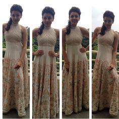 Top Indian fashion and lifestyle blog: Kajal Aggarwal in Siddhartha Tytler