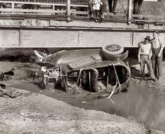 "Washington, D.C., 1921. ""Auto wreck."""