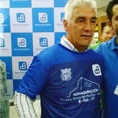 Omar De Felippe  Reinaguracion del estadio George Capwell  #Futbol  #Deportes #Emelec #MarketingDeportivo