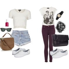 Outfits with Keds,  fall.