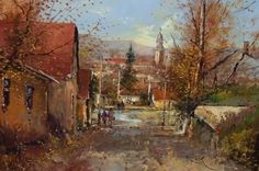 István Jakubik, Hungarian painter Noszvaj (Heves County)