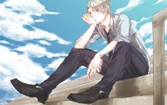 Tags: Anime, Axis Powers: Hetalia, Prussia, PNG Conversion, Germanic Countries