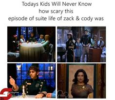 Today's kids will never know how scary this episode of suite life of Zack and Cody was