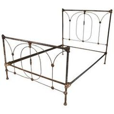 Late 19th Century Bedstead