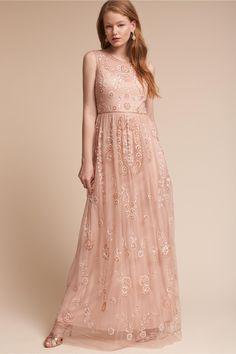 antique-inspired elegance   Abbington Dress from BHLDN