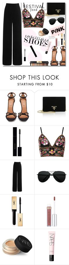 """""""Untitled #1097"""" by fashionmodelstyle ❤ liked on Polyvore featuring Givenchy, Prada, Gucci, Topshop, Roland Mouret, Yves Saint Laurent, NARS Cosmetics, men's fashion and menswear"""